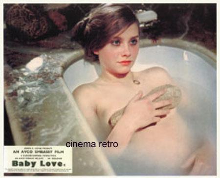 "CINEMA RETRO EXPOSES LINDA HAYDEN AS TEEN SEDUCTRESS IN ""BABY LOVE"""